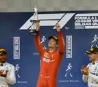 Leclerc logra su primera victoria en F1 al ganar el Gran Premio de Bélgica