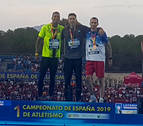 Oros para Sergio Fernández, Miren Bartolomé, Maitane Melero y June Kintana