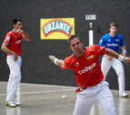 Olaizola-Albisu, finalistas en Lekeitio tras 839 pelotazos