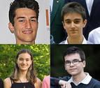 Premios Extraordinarios de Bachillerato para cuatro alumnos brillantes
