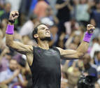 Nadal domina a Cilic y jugará cuartos ante Schwartzman