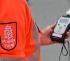 Un conductor ebrio, sin carné hasta 2021, se accidenta y amenaza a los agentes