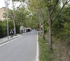 El PSN de Burlada propone que las bicis vayan por el centro de la calzada