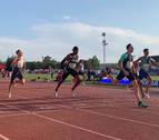 Sergio Fernández se impone en los 400 metros vallas en Andújar