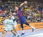 Un Barça más rodado no da opción al Helvetia Anaitasuna en su estreno