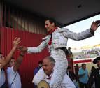 Montero vuelve a salir por la puerta grande en la novillada de Peralta
