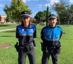 Sandra Irazabal, primera jefa de la Policía de Zizur Mayor