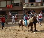Los niños hacen suya la segunda jornada de fiestas de Cárcar