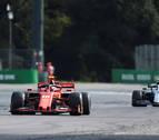 Leclerc logra en Monza su segunda victoria consecutiva y Sainz abandona
