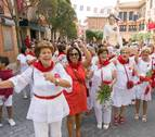Las mujeres de Cintruénigo se llenan de fiesta