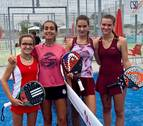 Leyre Insausti y María Erroz, cuartas de España en categoría Infantil