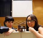 La música se vuelve color en Civican de la mano de Alicia Torrea y Karmele Gómez