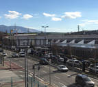 Unas obras de asfaltado en la A-15 provocan retenciones en Pamplona