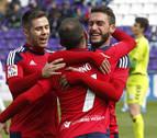 Valladolid, el terreno favorito para Osasuna