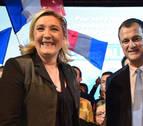 Marine Le Pen y su pareja, dirigente de su partido, confirman su separación