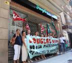 La huelga en Douglas cerró seis tiendas en Navarra