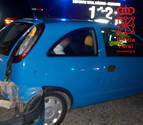 La Policía Foral sorprende a un conductor ebrio mientras atendía otro accidente