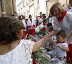 Una nueva generación, homenajeada en el Día Infantil de las fiestas de Sangüesa