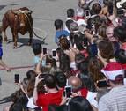 La emoción late de nuevo con el toro con soga de Lodosa