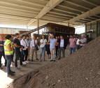 El Gobierno invierte un millón de euros en la reforma de la planta de residuos de Cárcar