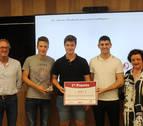 Tres alumnos del IES Iturrama premiados en un concurso organizado por Tecnun