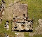 Varios objetos hallados en Zaldua demuestran la romanización del Pirineo
