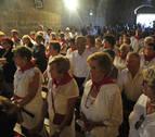 La procesión por la cruz de Mélida