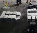 Interceptado un camión con 127 kilos de cocaína oculta en pieles de animal en Lorca