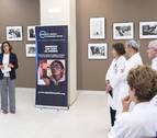 El CHN acoge una exposición fotográfica de la Fundación Ojos del Mundo