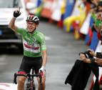 Pogacar conquista Gredos y se mete en el podio con Roglic y Valverde