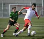 El San Jorge-Etxarri Aranatz termina con goleada (5-1) y cuatro penaltis