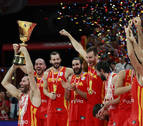 España, bicampeona del mundo de baloncesto