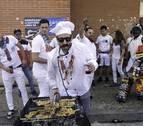 Costillada de hermandad en las fiestas de Huarte