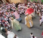 Adiós a unas fiestas de '100' en Sangüesa