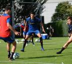 Luis Perea se reincorpora a los entrenamientos de Osasuna
