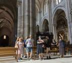 Tudela vuelve a superar los 28.000 turistas desde enero hasta agosto