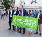 Rifirrafe entre el alcalde de Madrid y Vox en una protesta contra la violencia machista