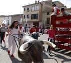 Las peñas de Villafranca empujan las fiestas