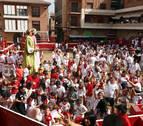Los niños hacen grande la fiesta en Villafranca