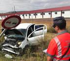 Tres heridos en un accidente en Corella cuyo conductor ha dado positivo