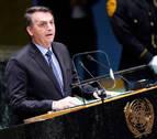 Bolsonaro defiende en la ONU que la Amazonía no es patrimonio de la Humanidad