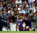 El FC Barcelona gana pero pierde a Messi