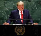 Trump urge al mundo a actuar contra el