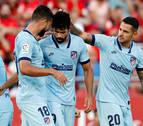 El Atlético gana y coge moral de cara al derbi madrileño
