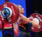 Lydia Valentín se cuelga la plata mundial en la categoría de 81 kilos