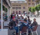 Las 42 terrazas de Estella reportan al Ayuntamiento más de 35.000 €