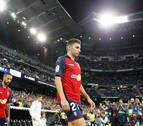 Moncayola se quedó solo en el Santiago Bernabéu