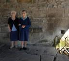 La fuente del Casco Antiguo de Berriozar se seca por primera vez en la historia