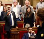 Bronca en el Parlament entre diputados soberanistas y Cs por los CDR presos