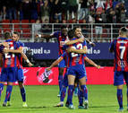 El Eibar vence al Sevilla tras culminar una heroica remontada